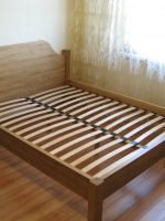 Кровать из дуба, покрыта маслом Borma.